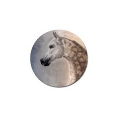 Grey Arabian Horse Golf Ball Marker by TwoFriendsGallery