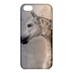 Grey Arabian Horse Apple Iphone 5c Hardshell Case by TwoFriendsGallery