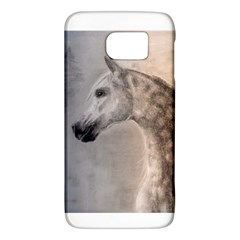 Grey Arabian Horse Galaxy S6 by TwoFriendsGallery