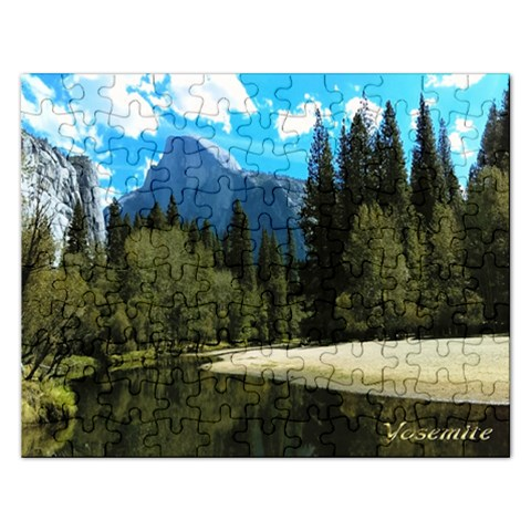 Yosemite Puzzle 2015 By Pamela Sue Goforth   Jigsaw Puzzle (rectangular)   Dse14o1omb5q   Www Artscow Com Front