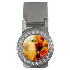 Awesome Colorful, Glowing Leaves  Money Clips (cz)  by FantasyWorld7