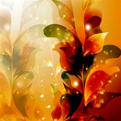 Awesome Colorful, Glowing Leaves  Magic Photo Cubes by FantasyWorld7