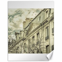 Neoclassical Style Buildings In Buenos Aires Argentina Canvas 18  X 24   by dflcprints
