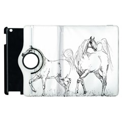 Logosquare Apple Ipad 3/4 Flip 360 Case by TwoFriendsGallery