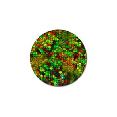 Artistic Cubes 01 Golf Ball Marker (4 pack) by MoreColorsinLife