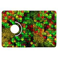 Artistic Cubes 01 Kindle Fire Hdx Flip 360 Case by MoreColorsinLife