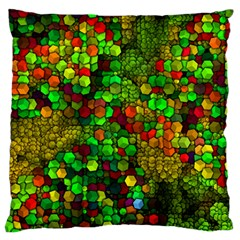 Artistic Cubes 01 Standard Flano Cushion Cases (two Sides)  by MoreColorsinLife