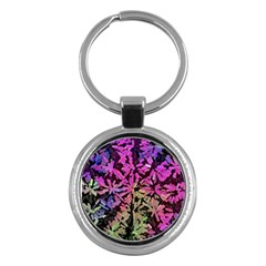Artistic Cubes 5 Key Chains (round)  by MoreColorsinLife