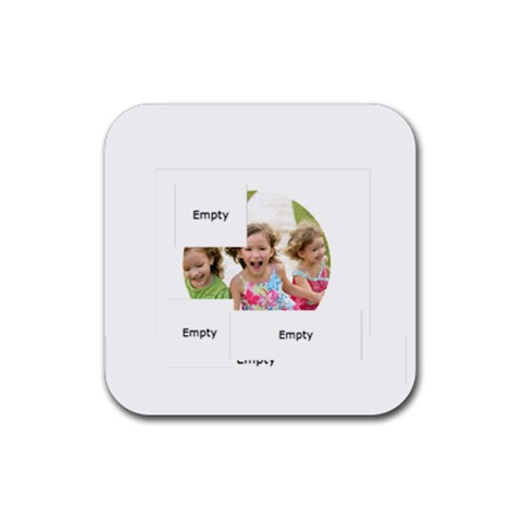 Xmas By Xmas   Rubber Coaster (square)   Fwh2enggxqw7   Www Artscow Com Front