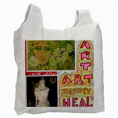 Recycler By Sally O keeffe   Recycle Bag (two Side)   Ywdwqa63tz0v   Www Artscow Com Front