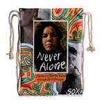 never bag - Drawstring Bag (Large)