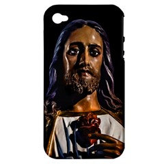 Jesus Christ Sculpture Photo Apple Iphone 4/4s Hardshell Case (pc+silicone) by dflcprints