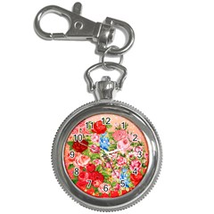 Pretty Sparkly Roses Key Chain Watches by LovelyDesigns4U