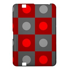 Circles In Squares Pattern Kindle Fire Hd 8 9  Hardshell Case by LalyLauraFLM