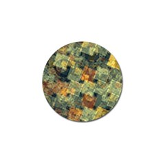 Stars Circles And Squares Golf Ball Marker (10 Pack) by LalyLauraFLM
