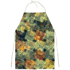 Stars Circles And Squares Full Print Apron by LalyLauraFLM