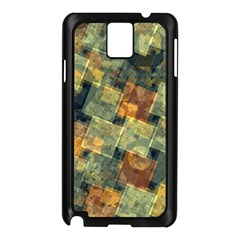Stars Circles And Squares Samsung Galaxy Note 3 N9005 Case (black) by LalyLauraFLM