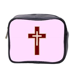 Red Christian Cross Mini Toiletries Bag (two Sides) by igorsin