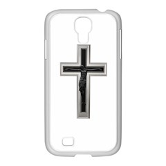 Red Christian Cross Samsung Galaxy S4 I9500/ I9505 Case (white) by igorsin