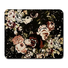 Dark Roses Large Mousepads by LovelyDesigns4U