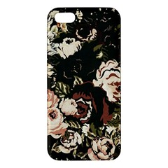 Dark Roses Iphone 5s Premium Hardshell Case by LovelyDesigns4U
