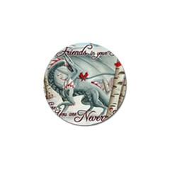 Lady Of The Fores Sts Golf Ball Marker (4 pack) by SpiritsThatSoar