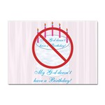My G-d Doesn t Have a Birthday Sticker A4 (10 pack)