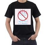 My G-d Doesn t Have a Birthday Men s T-Shirt (Black)