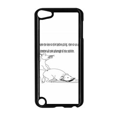 Better To Take Time To Think Apple Ipod Touch 5 Case (black) by mouse