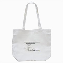 Better To Take Time To Think Tote Bag (white)  by mouse
