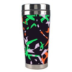 Broken Pieces Stainless Steel Travel Tumbler by LalyLauraFLM