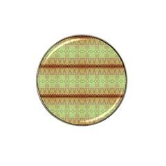 Aztec Pattern Hat Clip Ball Marker by LalyLauraFLM