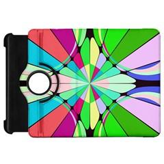 Distorted Flower Kindle Fire Hd Flip 360 Case by LalyLauraFLM