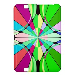 Distorted Flower Kindle Fire Hd 8 9  Hardshell Case by LalyLauraFLM