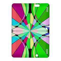 Distorted Flowerkindle Fire Hdx 8 9  Hardshell Case by LalyLauraFLM