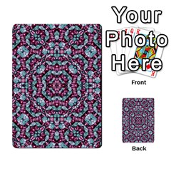 Luxury Grunge Digital Pattern Multi Purpose Cards (rectangle)  by dflcprints