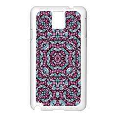 Luxury Grunge Digital Pattern Samsung Galaxy Note 3 N9005 Case (white) by dflcprints
