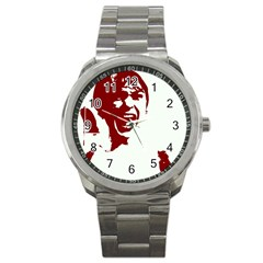 Psycho Sport Metal Watches by icarusismartdesigns