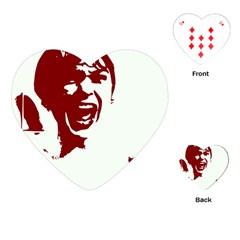 Psycho Playing Cards (heart)  by icarusismartdesigns