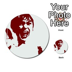 Psycho Multi Purpose Cards (round)  by icarusismartdesigns