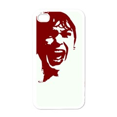 Psycho Apple Iphone 4 Case (white) by icarusismartdesigns