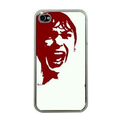 Psycho Apple Iphone 4 Case (clear) by icarusismartdesigns