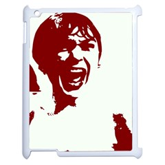 Psycho Apple Ipad 2 Case (white) by icarusismartdesigns