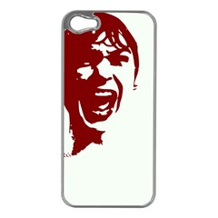 Psycho Apple Iphone 5 Case (silver) by icarusismartdesigns