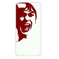 Psycho Apple Iphone 5 Seamless Case (white) by icarusismartdesigns