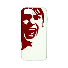 Psycho Apple Iphone 5 Classic Hardshell Case (pc+silicone) by icarusismartdesigns