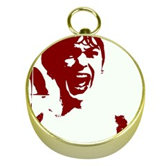 Psycho Gold Compasses by icarusismartdesigns