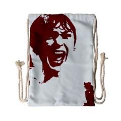 Psycho Drawstring Bag (small) by icarusismartdesigns