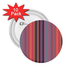 Triangles And Stripes Pattern 2 25  Button (10 Pack) by LalyLauraFLM