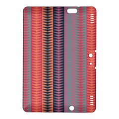 Triangles And Stripes Pattern Kindle Fire Hdx 8 9  Hardshell Case by LalyLauraFLM